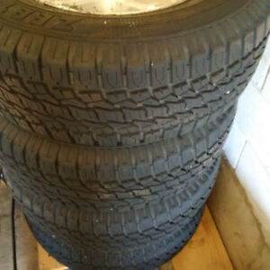 All Season Tires with Rims 265 70 17