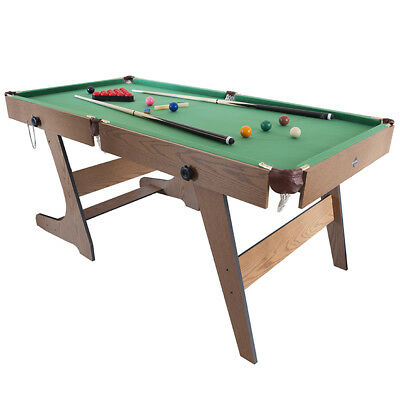 6ft Folding Snooker Table, Indoor Pool Games Room Table, Only at Toys R Us