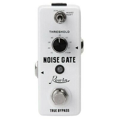 Rowin Guitar Noise Killer Noise Gate Suppressor Effect Pedal B2R5 LK3