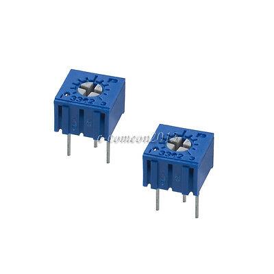 New 10pcs 1k Ohm 3362p-102 3362 P Trim Pot Trimmer Potentiometer Resistor