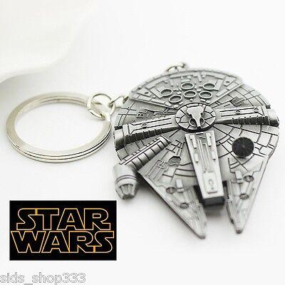 STAR WARS MILLINIUM FALCON Figurine / Pewter Key chain collectible