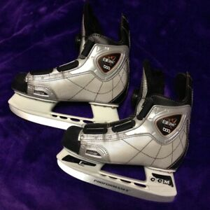 CCM Hockey Skates and Helmet