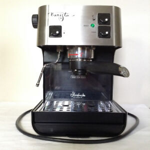 Starbucks Saeco Barista Espresso Coffee Machine Extras Included