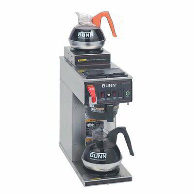 Bunn Cwtf15-2 Medium Volume Decanter Coffee Maker - Automatic 3.8 Galhr120v