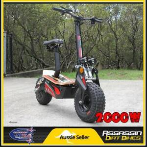 ASSASSIN USA EV2000 2000WATT BRUSHLESS 48V ELECTRIC SCOOTER OFFRO Taren Point Sutherland Area Preview