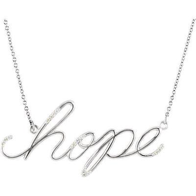 Hope Diamond Necklace - Diamond Hope 16.8