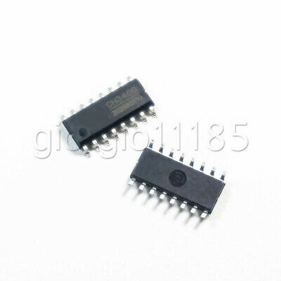 Us Stock 5pcs Ch340g R3 Board Free Usb Cable Serial Chip Sop-16 Smd Ic