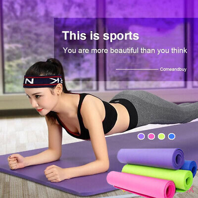 Portable EVA Non-Slip Yoga Mat Exercise Gym Fitness Training