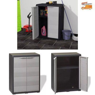 Garten Haushaltsgeräte (Gartenschrank Haushaltsschrank Geräteschrank Gartenhaus Geräteschuppen 1 Regal)