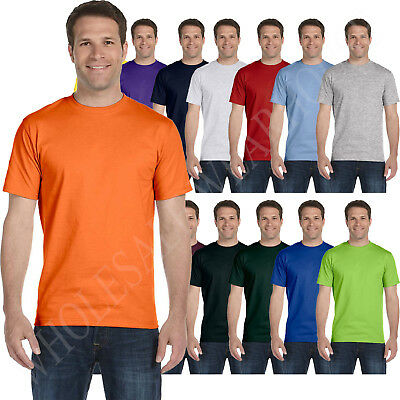 New Hanes Mens Comfortsoft Heavyweight 100  Cotton  Tagless S 3Xl T Shirt 5250T