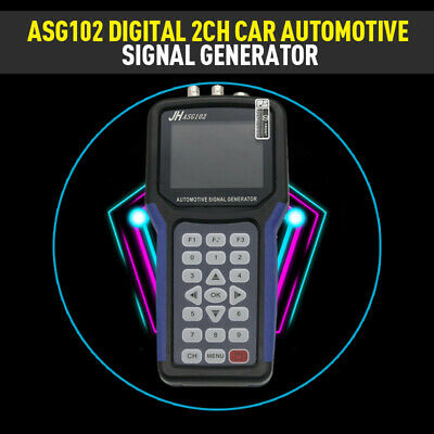 New Asg102 Digital 2ch Car Automotive Signal Generator Can Data Function Blue