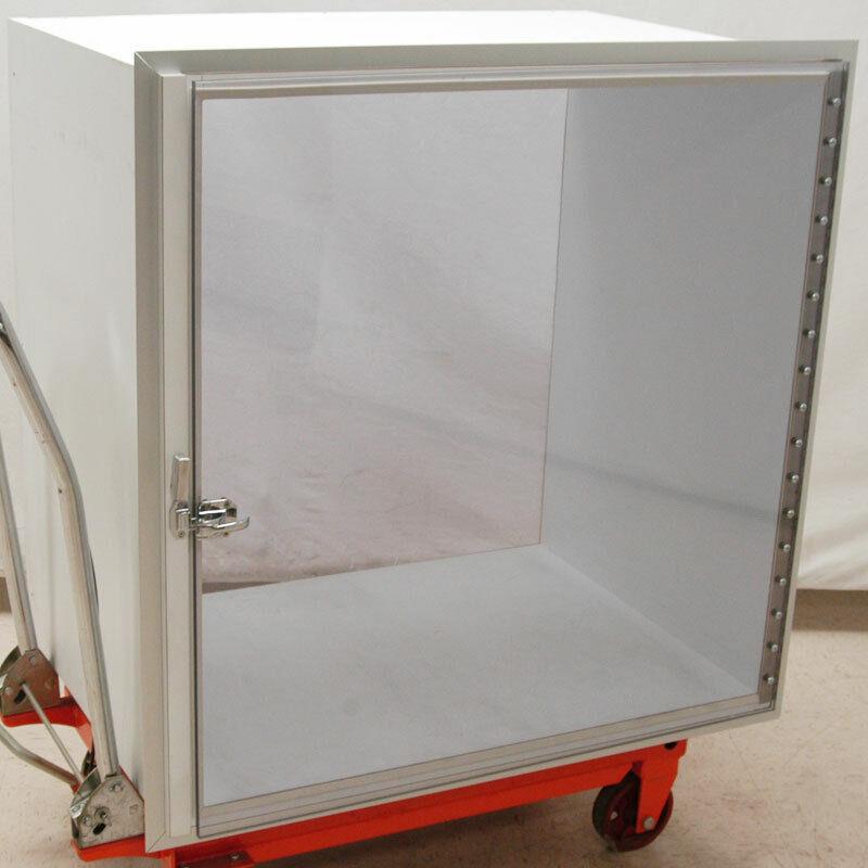 Clean Room Wall Mount Pass Through Storage Box Thru Chamber Cabinet Chamber