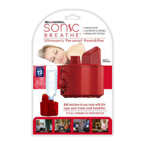 Bell and Howell Sonic Breathe Ultrasonic Personal Humidifier