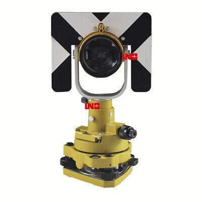 Universal Single Prism Tribrach Set Total Station Surveying Reflector System