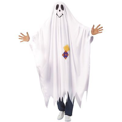 Adults Unisex Friendly Ghost Costume Bed Sheet Style Comical Halloween - Friendly Halloween Costumes