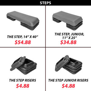 Cardio Steps Stepper Plyo Bodyweight Exercise Aerobic The Step