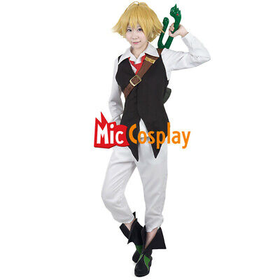 Meliodas Cosplay Costume Men Halloween Party Outfit - Halloween Outfits For Men