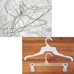 WANTED: WIRE HANGERS & BABY SIZE STORE HANGERS
