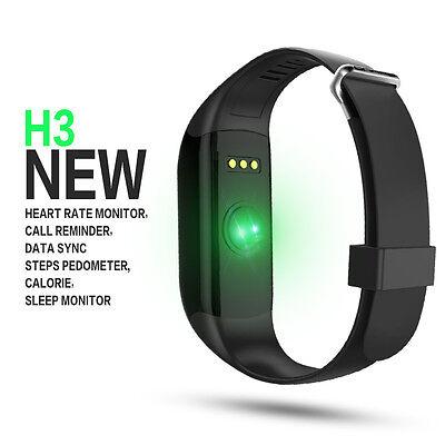 Waterproof Smart Band Watch Heart Rate Monitor Fitness Tracker Bracelet US STOCK