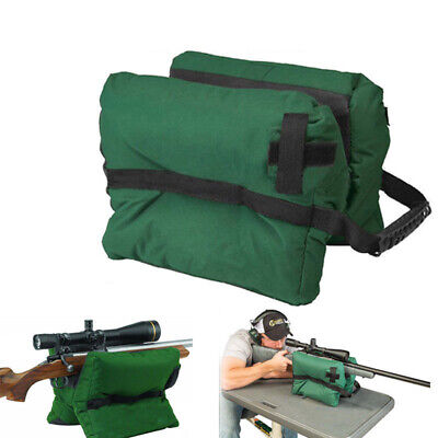 Bench Rest Bag (US Unfilled Front Shooter's Gun Rest Sand Bags Rifle Shooting Bench Steady)