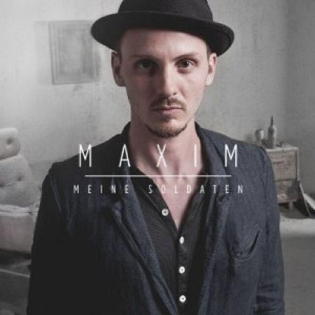 MAXIM - MEINE SOLDATEN  CD SINGLE 4 TRACKS DEUTSCH POP NEU