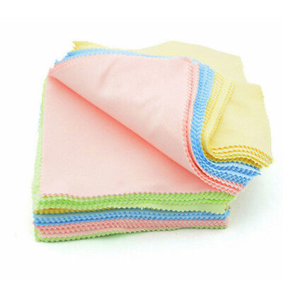 10PC Microfiber Cleaner Cleaning Cloth For Phone Screen Camera Lens Eye Glasses