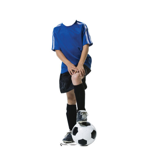 SOCCER PLAYER STAND-IN CARDBOARD CUTOUT Standup Standee Standin FREE SHIPPING