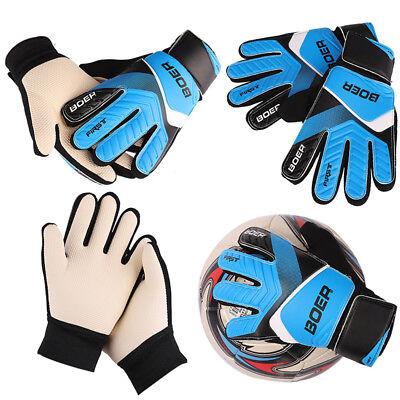 (Kids Teens Football Soccer Goalkeeper Goalie Training Finger Protector Gloves )