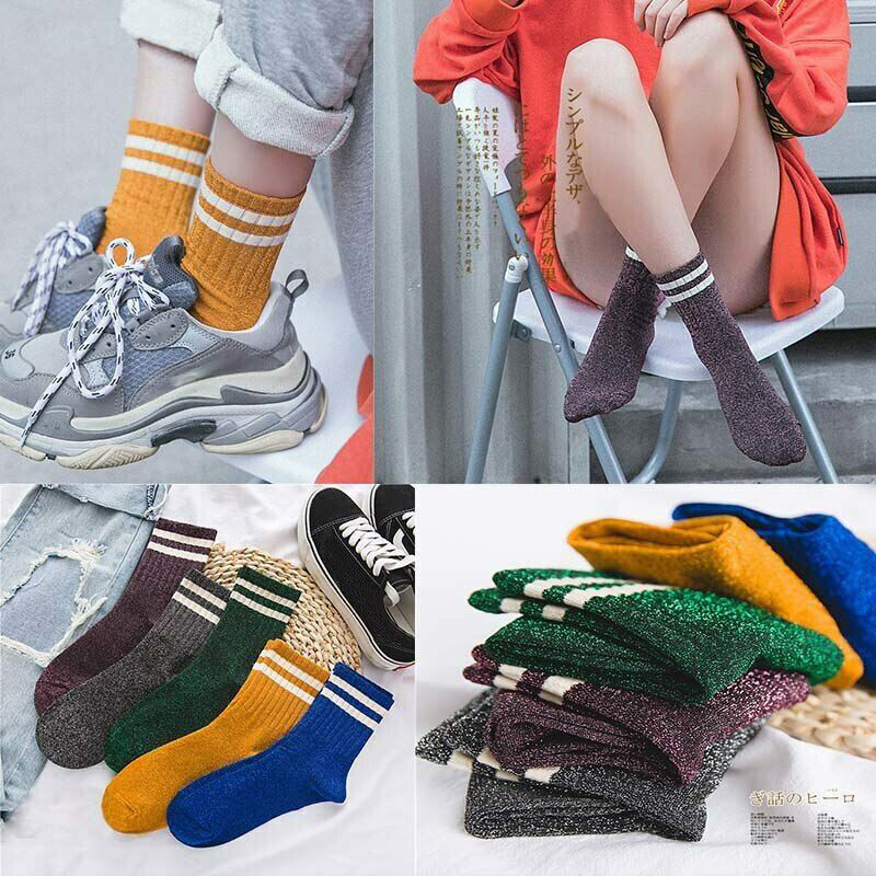 Funny Cotton Warm Womens Socks Cartoon Fox Owl Autumn Winter Colorful Crew Sock for Girl Gift