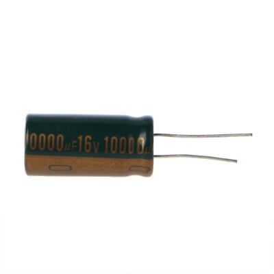 16v 10000uf High Electrolytic Capacitance Radial Capacitor Frequency Low Esr
