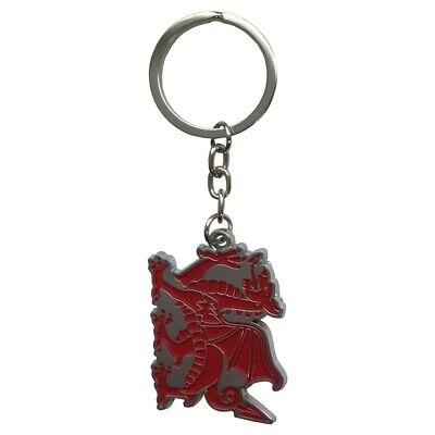 Wales Welsh Dragon Metal Key Ring