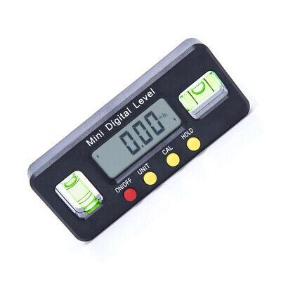Digital Inclinometer 490 Protractor Angle Finder Level Box Bevel Gauge Magnet