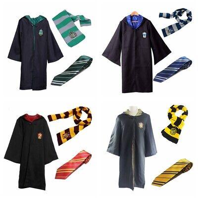 Cosplay Harry Potter Robe Wand Krawatte Set Cape Party Unisex-Kostüm (Harry Potter Kostüm Party)