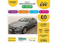 Mercedes-Benz CLS250 FROM £99 PER WEEK!