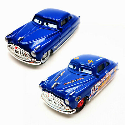 Disney Pixar Cars Lot 2 Doc Huds & Fabulous Doc Hudson Diecast Model Toy Car
