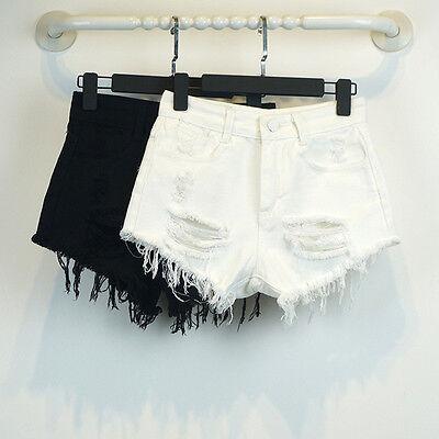 Fashion Women Sexy High Waist Jeans Lady Pants Casual Denim Short Shorts E158S