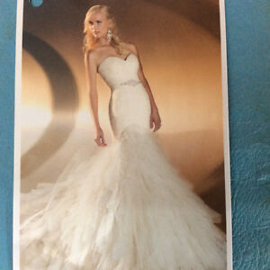 Reduced to Sell ....Mermaid wedding gown