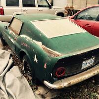 1972 Mustang Fastback 3/4 Kit
