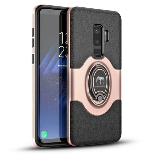 For Samsung Galaxy S9/S8/Plus/Note 8 Ring Holder Shockproof Armor TPU Case Cover