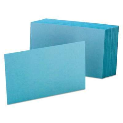 Oxford Unruled Index Cards 4 X 6 Blue 100pack 078787740013