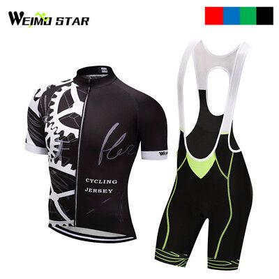 Gear cycling jersey 2017 pro team Men Bike Jersey Cycling Clothing cycling set