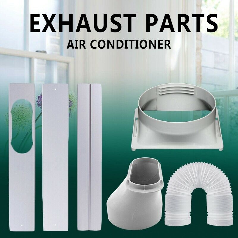 window adaptor 3pcs kit plate exhaust hose