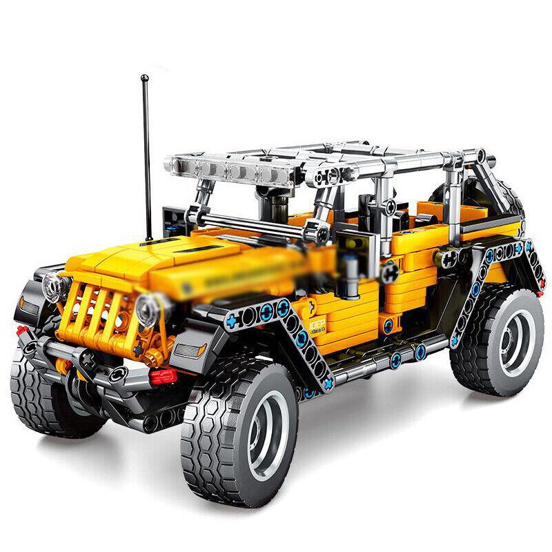 601pcs Technic Off Road Car Vehicle Model Building Blocks Puzzle Car Toys Bricks