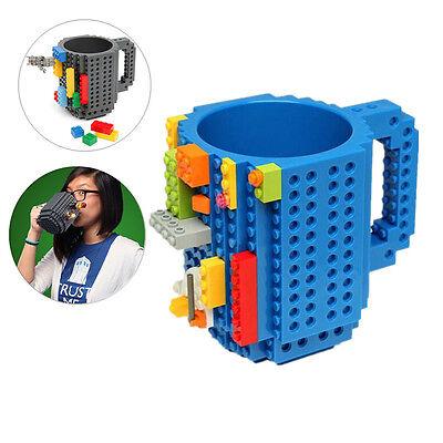Creative DIY Coffee Cup Mug Build-on Brick Puzzle Mugs Frozen Building Blocks - Diy Mugs