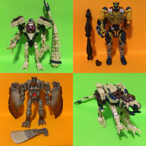 Beast Wars Transformers Complete and Incomplete Transmetals lot