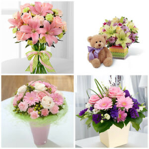 MOTHER'S DAY FLOWERS, ROSES, ARRANGEMENTS, BOUQUETS, BEARS...