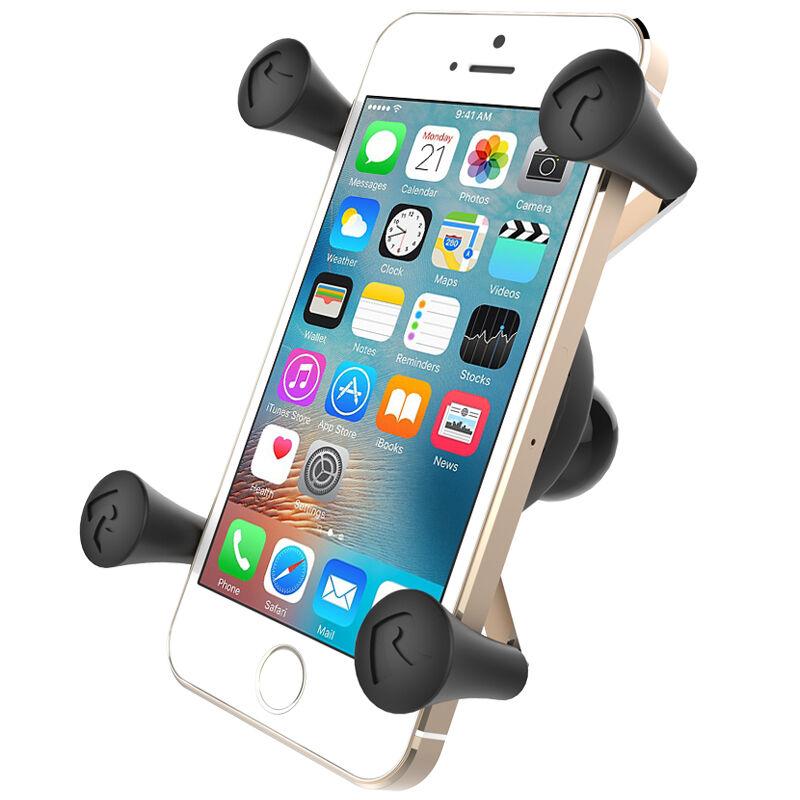 """RAM Mounts RAM-HOL-UN7BU RAM Universal X-Grip Cell Phone Holder with 1"""" Ball"""