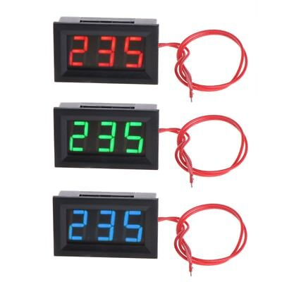 2 Wire 0.56 Ac 30v-500v Led Digital Voltmeter Meter Monitor Tester For 110v 220