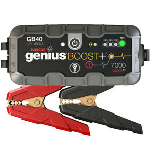NOCO Genius GB40 Boost+ Jump Starter and Power Bank, 1000 Amp