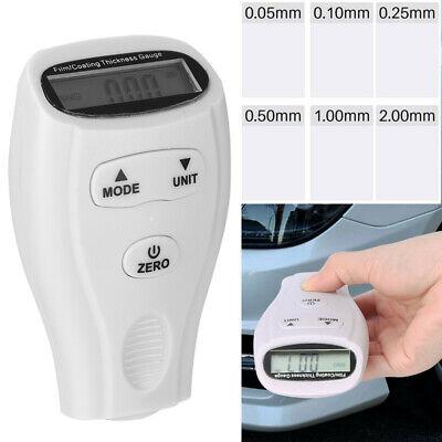 Gm200a Digital Paint Coating Thickness Gauge 0-1.80mm Gauge Tester For Car Us